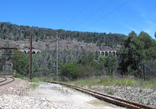 BLUE TRAIL 3:     Viaduct view, Oakey Park