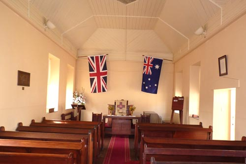 Church interior today