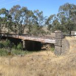 Abandoned Road Bridge over Bet Bet Creek