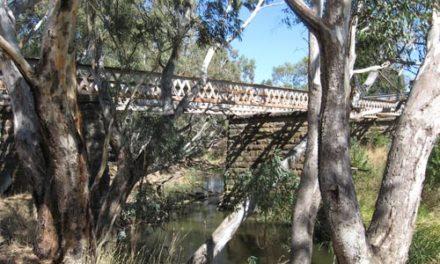 Abandoned Road Bridge over Bet Bet Creek